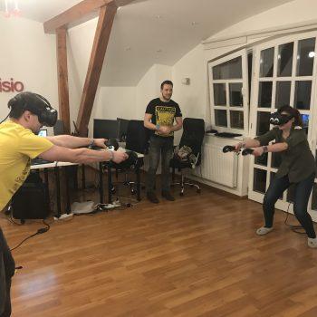 Teambuilding Virtuální realita